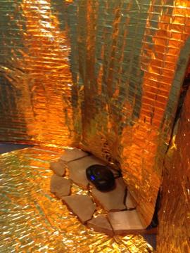 Installation by Fritz Buehner, Art Lab 2012
